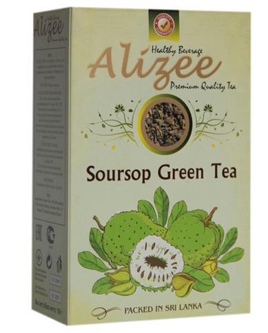 Зелений чай з саусепом Алізе 100 грам