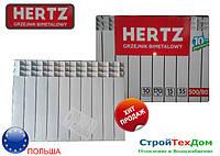 Биметаллический радиатор отопления Hertz 500/80 ПОЛЬША