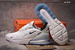 Мужские кроссовки Nike Air Max 270 (белые), фото 6