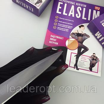 [ОПТ] Жіночі надміцні колготки ElaSlim (Чорні)