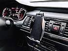 [ОПТ] Автомобільний тримач для смартфона з функцією бездротової зарядки Smart Sensor S5, фото 2