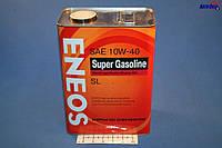 ENEOS SUPER GASOLINE API SL 10W40 Semi-synthetic 4л, фото 1