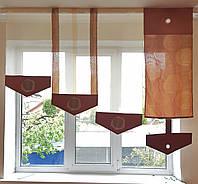 Японские панельки   розы коричневые, 1,50-1,80м, фото 1