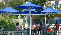 Солнцезащитные зонты, пляжные зонты, уличные зонты, зонты для кафе, зонты для частного сектора, дачные зонты