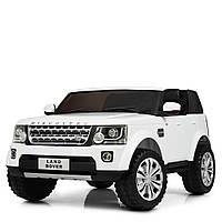 Детский электромобиль Джип «Land Rover» M 4063EBLR-1 (Белый)