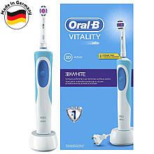 Зубная электрощетка Braun Oral-B Vitality 3D White (D12.513) c насадкойEB18p 3D White Luxe