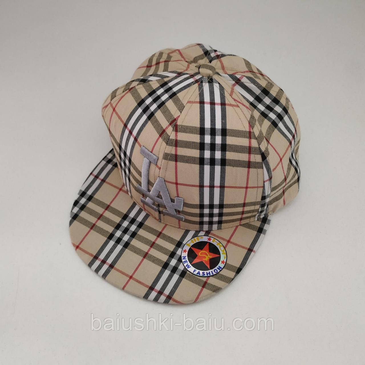Детская кепка рэперка для мальчика, р. 4-6 лет (75)