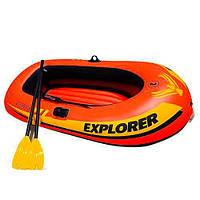 Надувная лодка Explorer INTEX 58332 (117х211х41см)
