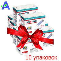 Тест полоски Gamma MS ( Гамма МС ) 500 штук для глюкометров Gamma Mini и Gamma Speaker, фото 1