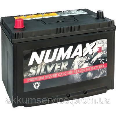 Акумулятор автомобільний Numax Asia Silver 75AH R+ 650A (95D23L)