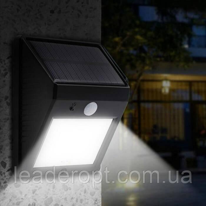 [ОПТ] Вуличний Ліхтар LED Сонячна Батарея.Датчик Руху 20 діодів