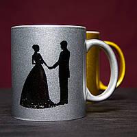 Нанесение изображений на чашки для свадьбы, торжества, дня рождения, юбилея