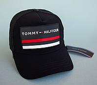 Кепка черная с логотипом Tommy Hilfiger