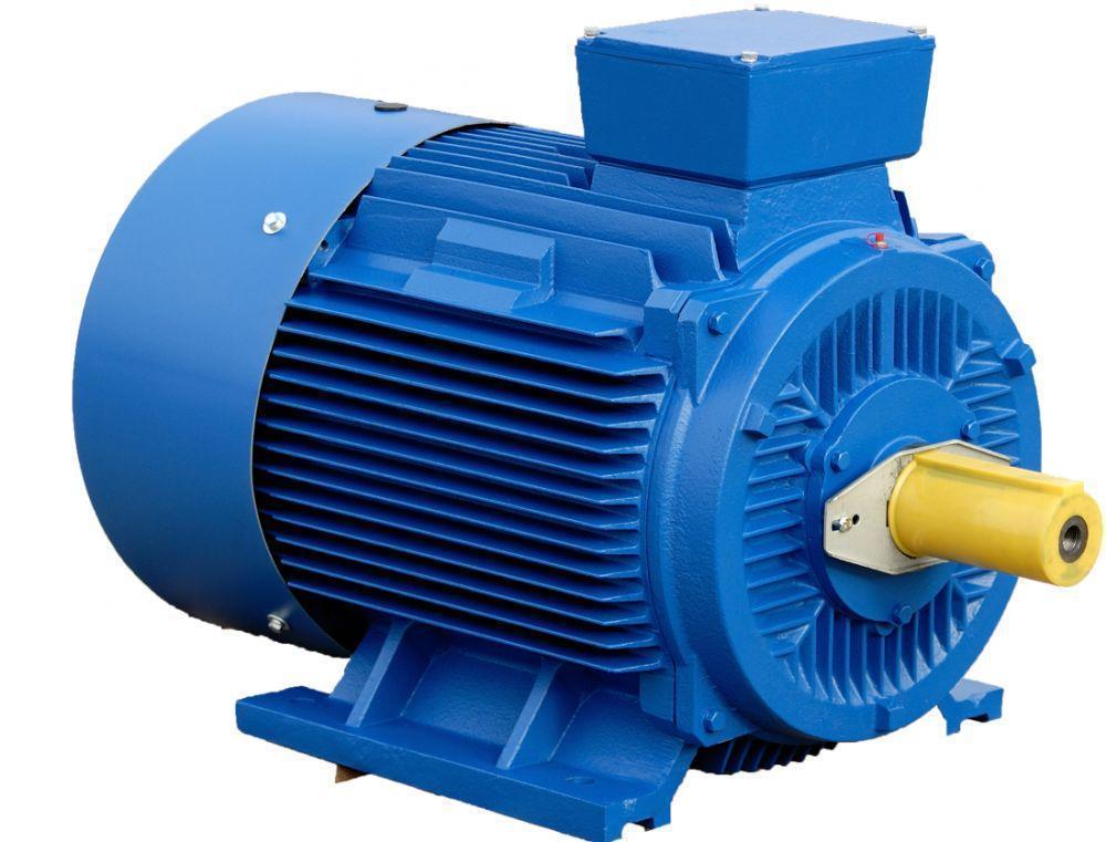 Электродвигатель трехфазный АИР 80 В2 (2,2кВт/3000об/мин) 220/380В