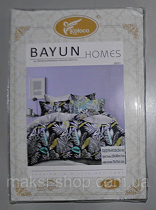 Полуторный комплект постельного белья BAYN HOMES  Koloco (BA-0016)