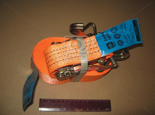 Стяжка вантажу, 2t. 50mm.x12m.(0.5+11.5) метал. ручка
