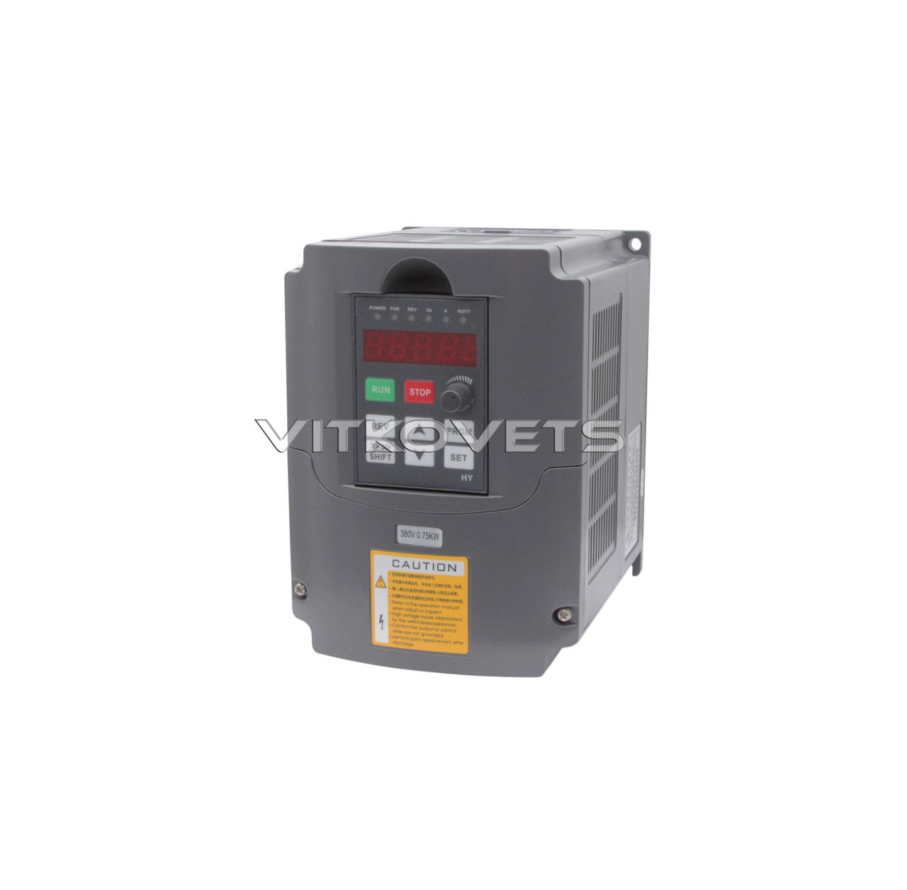 Инвертор HY0D7543B, 0.75KW 2.5A 380V