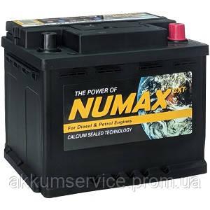 Аккумулятор автомобильный Numax Euro 62AH L+ 560A (56219)