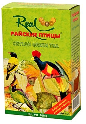 Чай зеленый Real Райские птицы 100 грамм