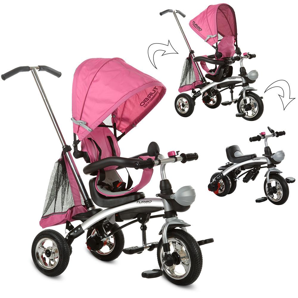 Велосипед M 3212A-4 Рожевий TURBOTRIKE