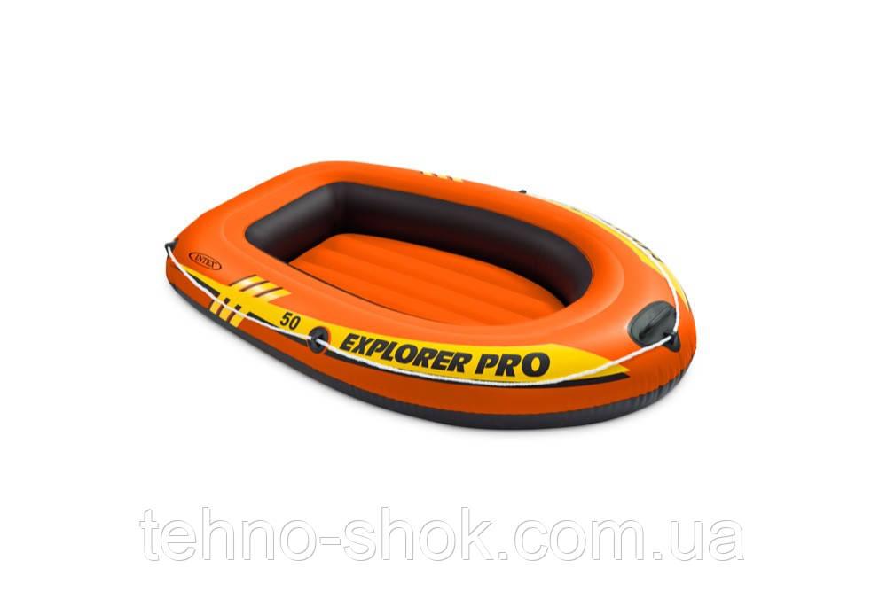 Одноместная надувная лодка Intex 58354 Explorer Pro 50 (137х85х23см)