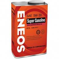 ENEOS SUPER GASOLINE API SL 5W30 IL SAC GF-3 4л, фото 1