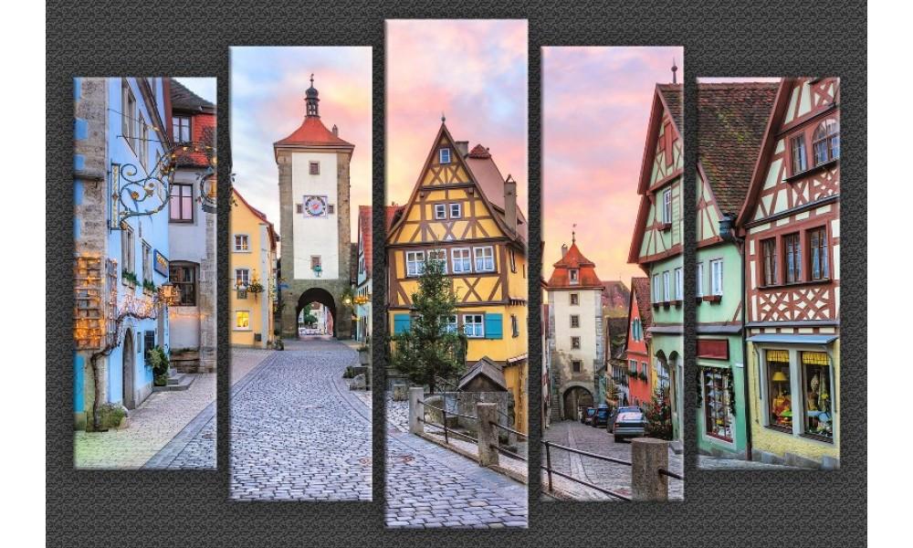 Модульная картина Германия-5 85х130 см (HAB-140)