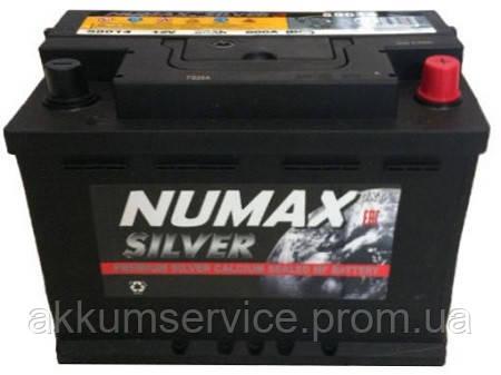 Акумулятор автомобільний Numax Euro Silver 55AH L+ 500A (55566)