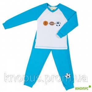 "Пижама "" Футбол"" Смил, размер 92"