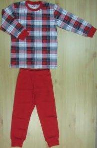 """Пижама  """"Красная клетка"""", Интеркидс, размеры размеры 98, 104, 140"""
