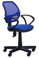 Кресло Чат/АМФ-4 сиденье А-21/спинка Сетка синяя
