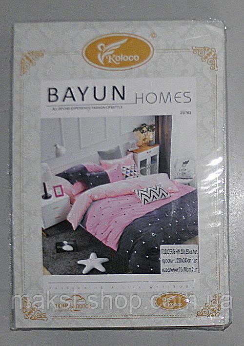 Двохспальне комплект постільної BAYN HOMES Koloco (ВЕ-0003)
