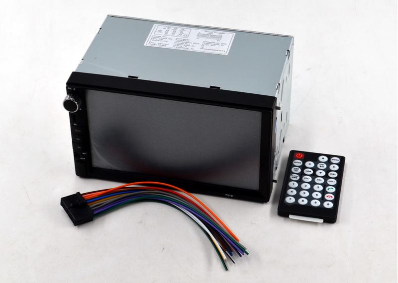 """Автомагнитола с сенсорным дисплеем 7319 экран 7""""  2 DIN в машину магнитола большая"""