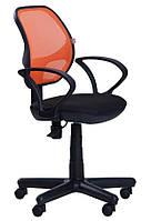 Кресло Чат/АМФ-4 сиденье А-1/спинка Сетка оранжевая