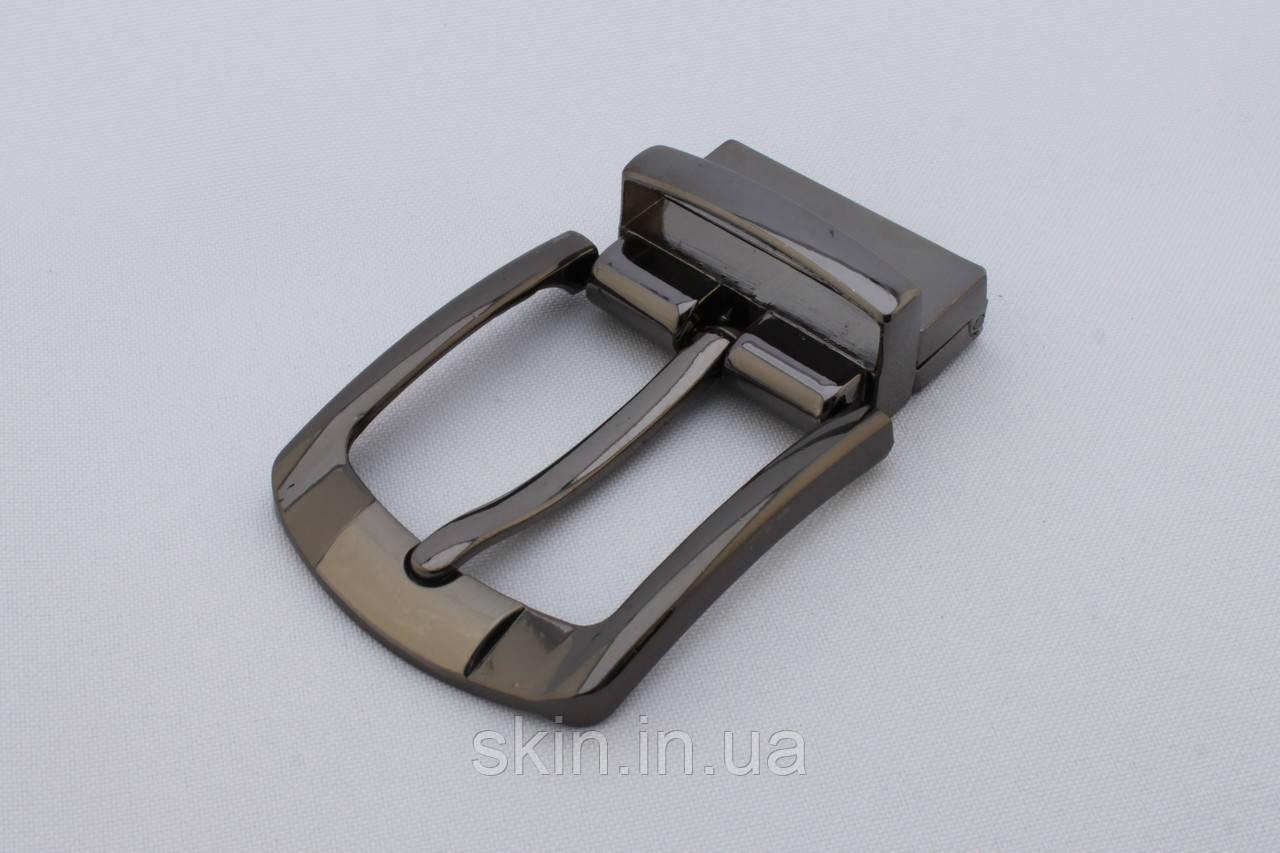 Пряжка ременная и тренчиком, ширина - 35 мм, цвет - черный никель, артикул СК 5369
