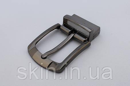 Пряжка ременная и тренчиком, ширина - 35 мм, цвет - черный никель, артикул СК 5369, фото 2