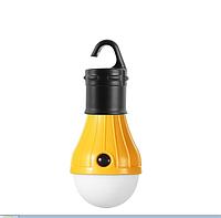 Фонарь походный подвесной 3DTOYSLAMP желтый, фото 1