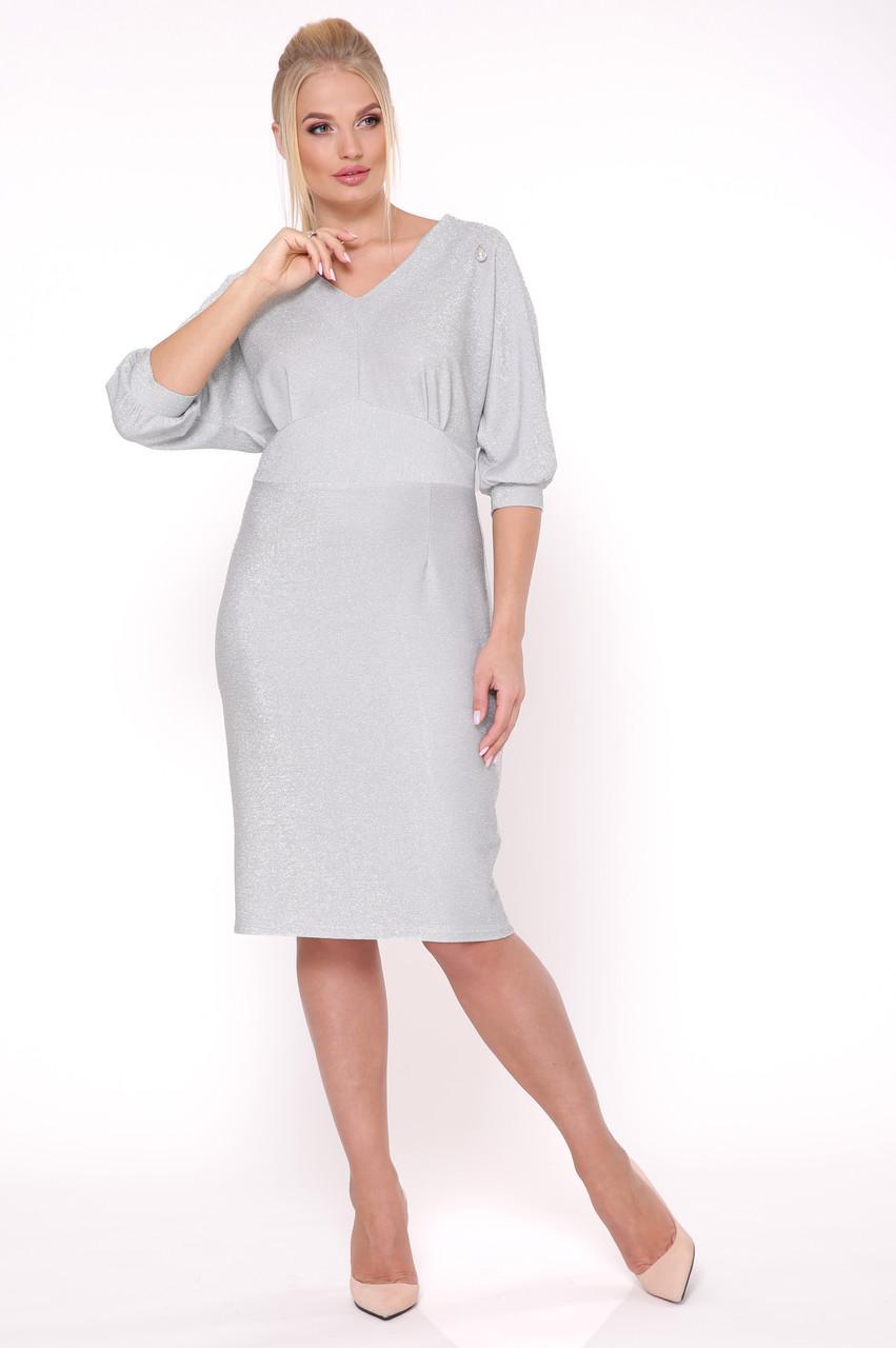 Платье Афина серебро