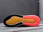 Мужские кроссовки Nike Air Max 270 (оранжевые), фото 2