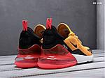 Мужские кроссовки Nike Air Max 270 (оранжевые), фото 3