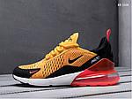 Мужские кроссовки Nike Air Max 270 (оранжевые), фото 4