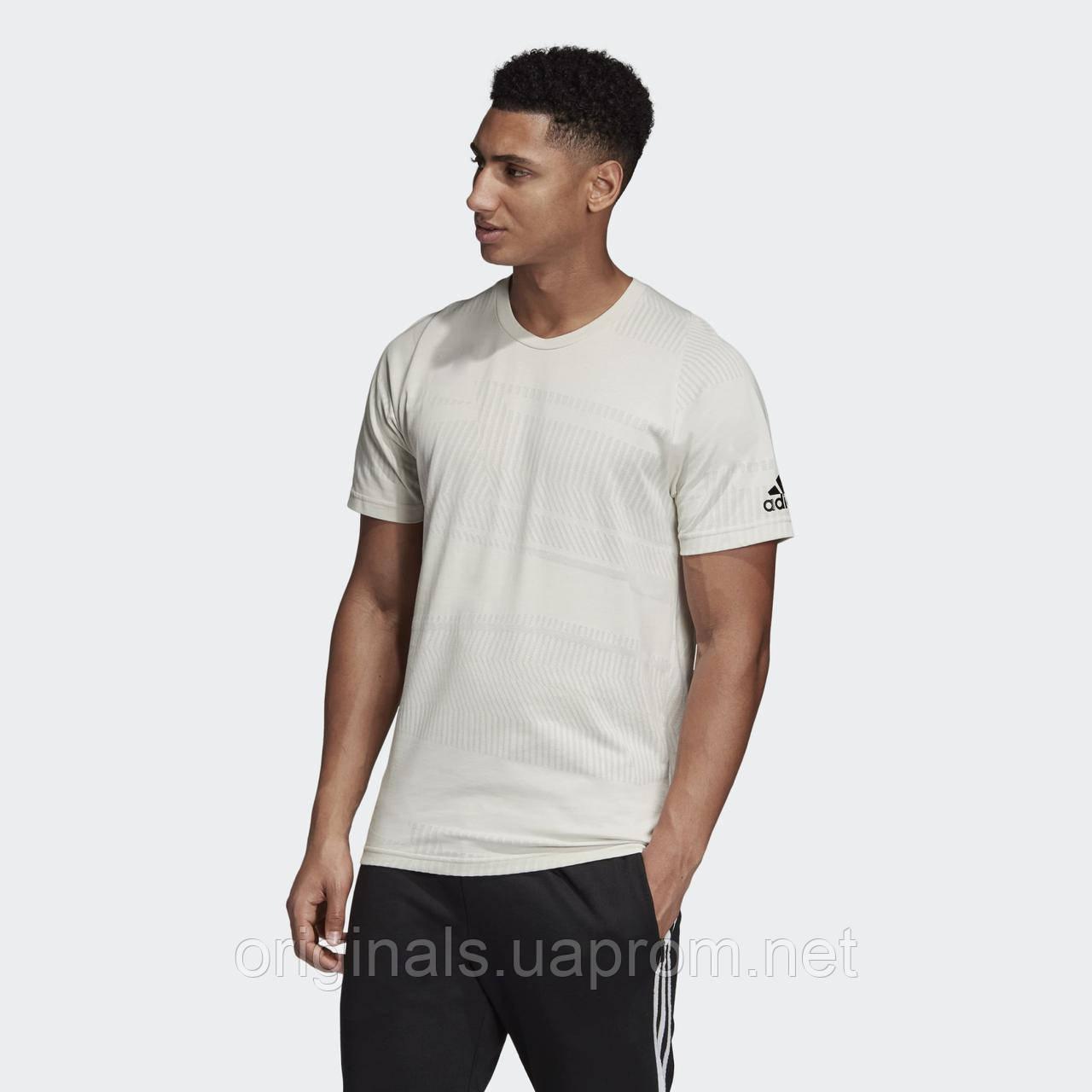 Мужская футболка Adidas ID Jacquard DU1118