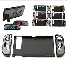 Чехол-накладка для Nintendo Switch метал + матовый пластик / Стекла /
