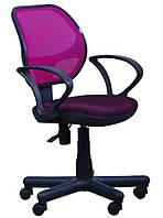 Кресло Чат/АМФ-4 Сетка бордовая