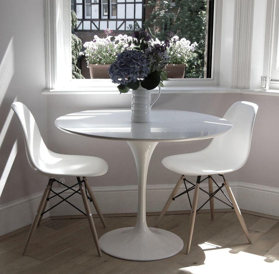 Обеденный стол Тюльпан белый, D80 см от SDM Group