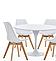 Обеденный стол Тюльпан белый, D80 см от SDM Group, фото 3