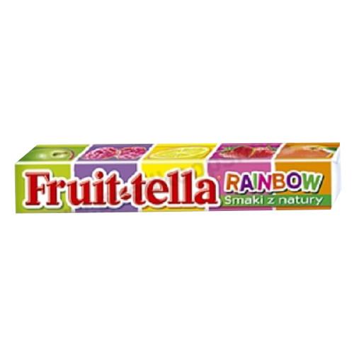 Фруттелла /  Fruit-tella веселка жевательная  конфета 41г/20шт/16 в ящ