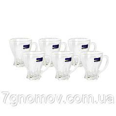 Набор стеклянный 6 чашек Делиция Классик 200 мл