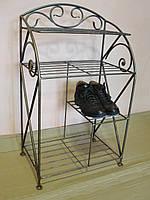 Этажерка для обуви с коваными элементами -  010-49-30-80, фото 1