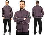 Чоловічий спортивний костюм Трикотаж двунітка Розмір 50 52 54 56 В наявності 3 кольори, фото 3